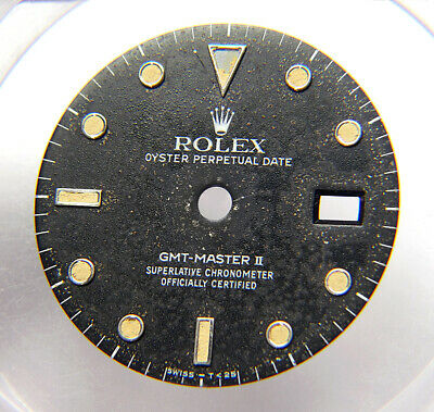 $ CDN651.70 • Buy Vintage Genuine Rolex GMT-Master II 16710 16760 Black Cream Tritium Watch Dial