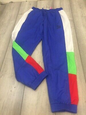 Puma Shell Tracksuit Bottoms Size Small Multicoloured • 6.99£