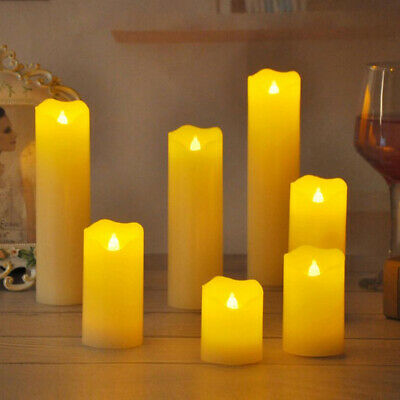 Battery Operated Tea Lights LED Xmas Decorative Flameless Candles Flickering  • 6.93£