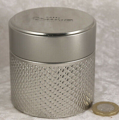 Hotel Chocolat Small Silver Tin 3 Inches Tall Sweet Chocolate Collectable  • 1.42£