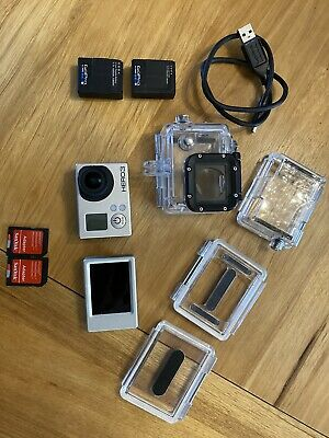 AU200 • Buy GoPro Hero 3 Sports Camcorder With Accessories