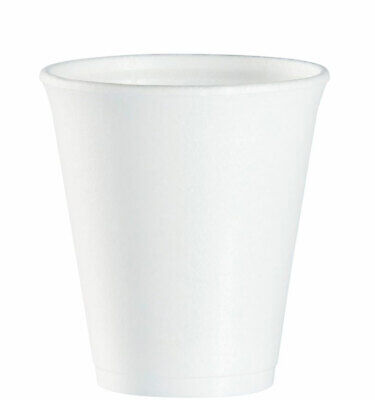 £5.75 • Buy Polystyrene Insulated Cup For Hot Or Cold Drink 7oz 207ml Pack Of 25