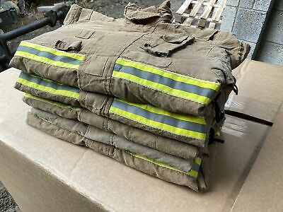 £100 • Buy 5x Ex Fire & Rescue Jacket Tunic Fire Service Firefighter Thermal JOB LOT Who...