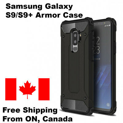 $ CDN4.69 • Buy For Samsung Galaxy S9 / S9 Plus Dual Layer Shockproof Armour Tough Case Cover