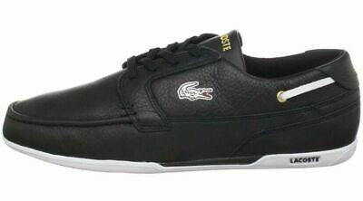 Lacoste Men's Dreyfus Fashion Sneaker, Black/Gold, Size 9M NIB • 59.02£