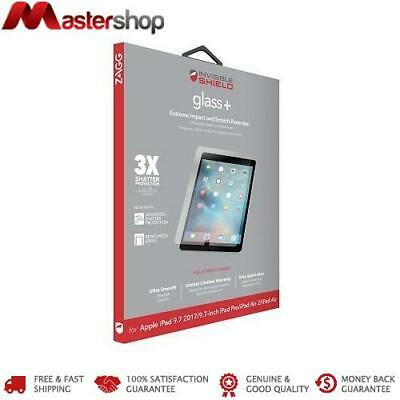 AU59.95 • Buy ZAGG InvisibleShield Glass+ Screen Protector For IPad 5th / 6th / Air 2 / Pro 9.