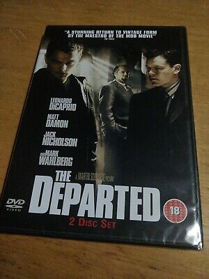 The Departed DVD (2007) 2xDVD Sealed/Unopened • 2.50£