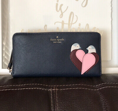 $ CDN98.18 • Buy Kate Spade Cameron Large Continental Leather Zip Around Wallet