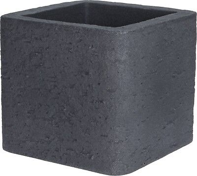 £23.99 • Buy Cube Planter Grey Planter Plant Pot Square.  Double Walled. Stone Effect