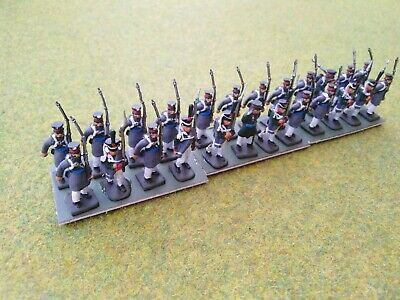 1/72 20mm Painted Napoleonic Russian Infantry (8) • 32£
