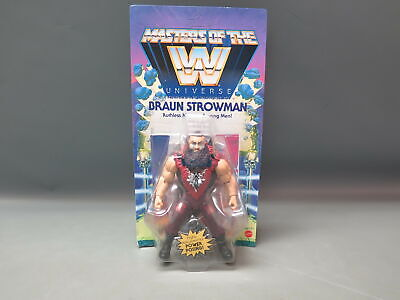 $22.99 • Buy WWE Masters Of The WWE Universe Braun Stroman Figure Unpunched Card
