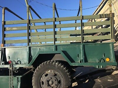 $500 • Buy -RAILS & BOWS - For A US ARMY M105A2 USMC Military 1-1/2 Ton Cargo Trailer