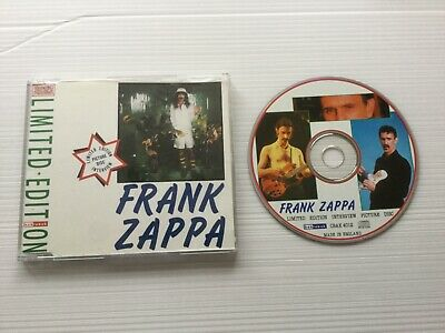 """£5.50 • Buy Frank Zappa """" Interview Disc """" Limited Picture Cd  Fully Play Tested+ Inlay Rare"""