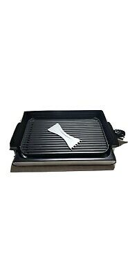 $45 • Buy Wolfgang Puck Indoor  Reversible Grill And Griddle - Used. Stock Photo