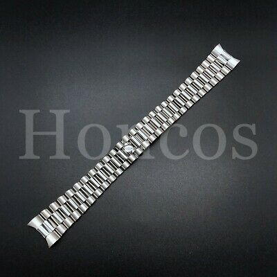 $ CDN28.98 • Buy President Silver Watch Band Bracelet For Rolex Datejust 20mm Stainless St