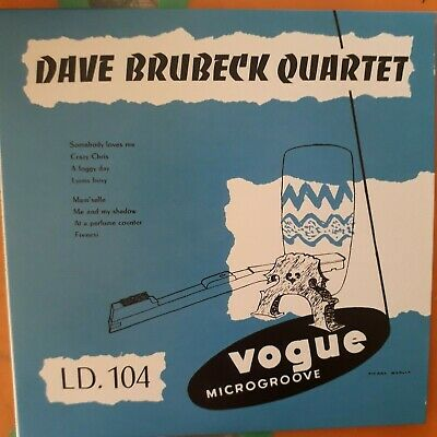 THE DAVE BRUBECK QUARTET + VOLUME TWO (Two 1952 Albums) VOGUE CD~NEW • 2.99£