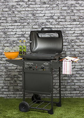 Barbecue A Stone Lava Rock 'Expert Plus It' Structure Steel 2 Burner • 139.93£