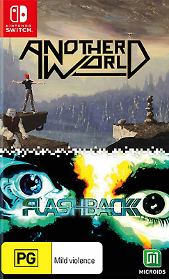 AU22.95 • Buy Another World X Flashback Switch Game NEW