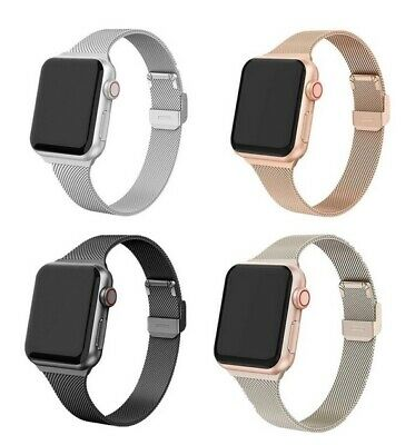 AU10.95 • Buy Milanese Magnetic Stainless Steel Band For Apple Watch Band Series 6 5 4 3 2 SE