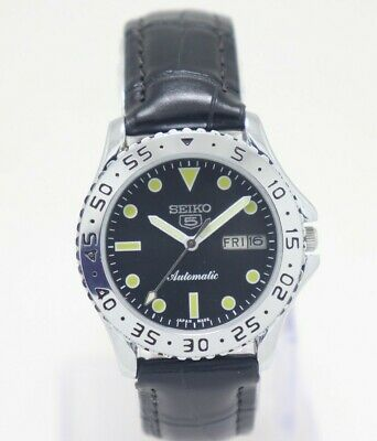 $ CDN17.12 • Buy Seiko 5 Automatic  Fixed Bezel  Japan Movement Cal. No. 6319 Men's Watch.