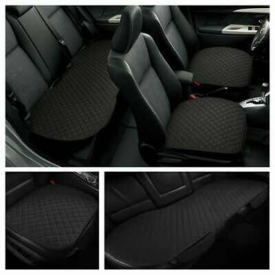 3Pcs Full Sst Car Short Plush Seat Cover Cushion Pad Non-slip Mat No Backrest • 28.89£