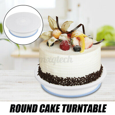 Kitchen Cake Stand Decorating Icing Rotating Revolving Turntable Display  • 7.88£