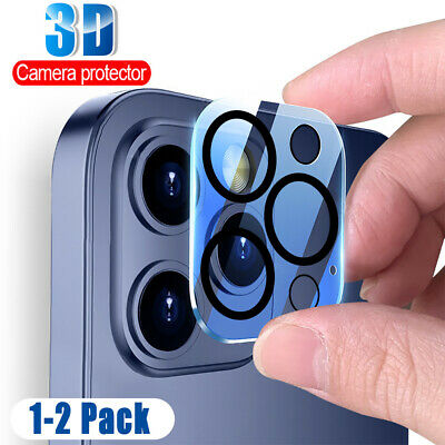 Camera Lens Protector For IPhone 12/ 12 Pro 9H Tempered Glass HD Rear Lens Glass • 3.99£