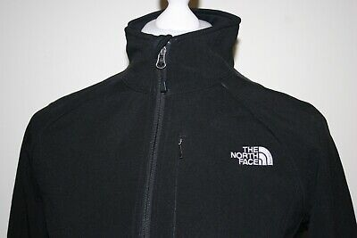 The North Face Apex Womens Black Soft Shell Jacket Size M Outdoor Coat Top   • 22£