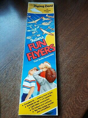 Rare Vintage 1980s Fullers Fun Flyers Flying Dart F5 Spaceship Type Mint & Boxed • 5.99£