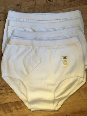 6 Pairs Of Mens Y Fronts Brand New Large Size • 3£