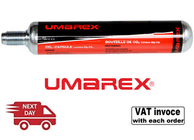 £34.99 • Buy 5 X Umarex 88g Co2 Gas Capsules 88 Gram CO2 Paintball - NEXT DAY DELIVERY!