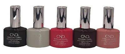 £6.99 • Buy CND Shellac Luxe Gel Nail Polish ~ Choose Your Shade