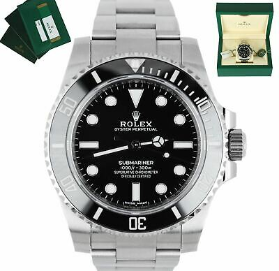 $ CDN15700.17 • Buy MINT 2020 Rolex Submariner No-Date Stainless Black Ceramic 40mm 114060 Watch