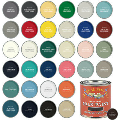 $29.50 • Buy General Finishes Water-Based Interior Or Exterior Milk Paint, PINT (33 Colors)