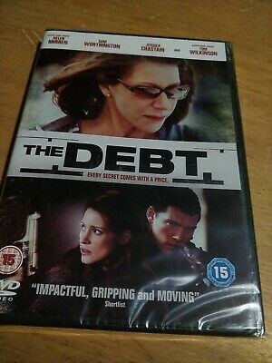 The Debt Every Secret Comes With A Price (DVD) (2012) Helen Mirren SEALED • 3.10£