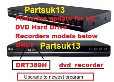 DRT389H LG Firmware Update Freeview DVD Hard Drive Recorders See Customers Views • 10£