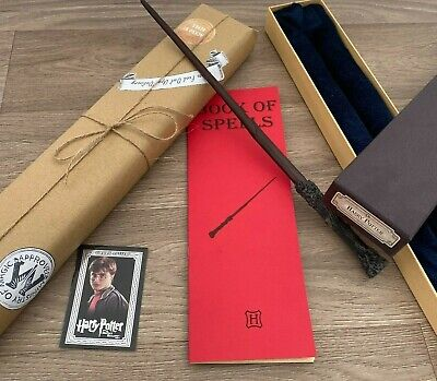 Harry Potter Magic Wand Replica With Box Cosplay Prop UK SELLER • 19.99£