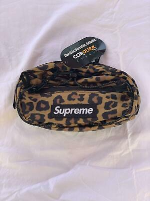 $ CDN127.59 • Buy Supreme X Cordura Waist Bag Leopard FW20