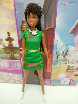 Barbie Black African American Fashionistas Boxed Ooak Dreadlocks • 12.99£