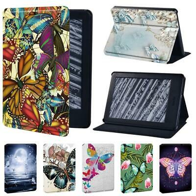 Butterfly Leather Cover Case For Amazon Kindle 8th 10th Paperwhite 1/2/3/4 + Pen • 7.99£