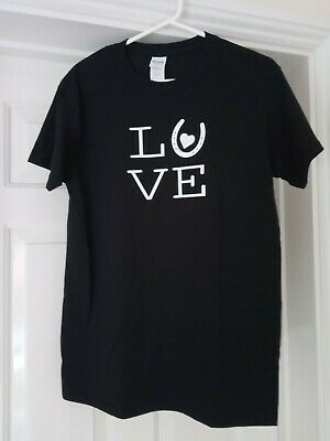 Horse Riding Love T-Shirt Gift Present Size - Small  • 6.99£