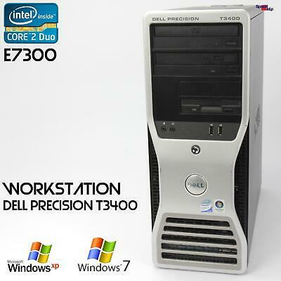 Pro Work Station Dell Precision T3400 Computer PC Parallel Lpt RS-232 Server Ok • 121.44£