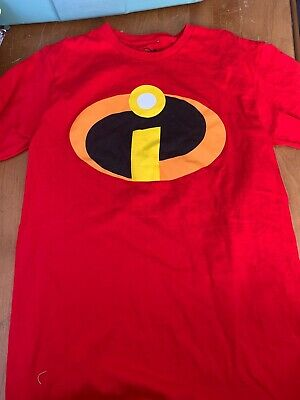 Disney Incredibles Short Sleeve Shirt - Size Small • 8.94£