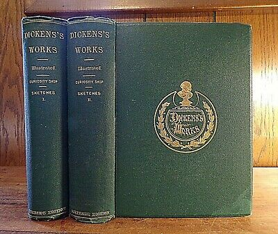 £56.64 • Buy Charles Dickens ~ The Old Curiosity Shop & Sketches ~ In 2 Vols ~ 1867 ~ Illus