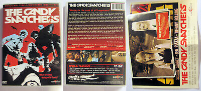 The Candy Snatchers Collectors Edition Subversive Region 1 Ntsc Dvd Unrated • 18.99£