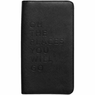 AU18.95 • Buy Otto Monochrome Travel Wallet Black