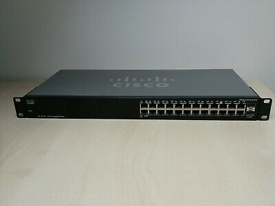 Cisco Small Business SG100-24 24 Port Un-managed Gig Switch • 23.80£