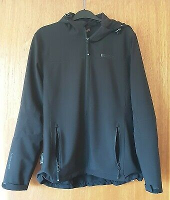 Mountain Warehouse Breathable  Black Jacket Soft Shell Size 14 With Hood • 18£