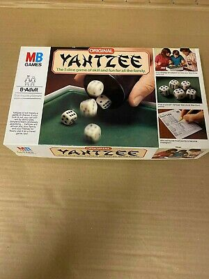 Yahtzee Dice Game By MB Games Original • 11.99£