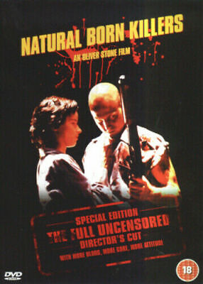 Natural Born Killers: Director's Cut DVD (2003) Woody Harrelson, Stone (DIR) NEW • 2.49£